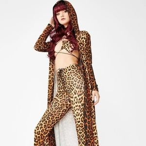 Dollskill Halloween tiger cat costume